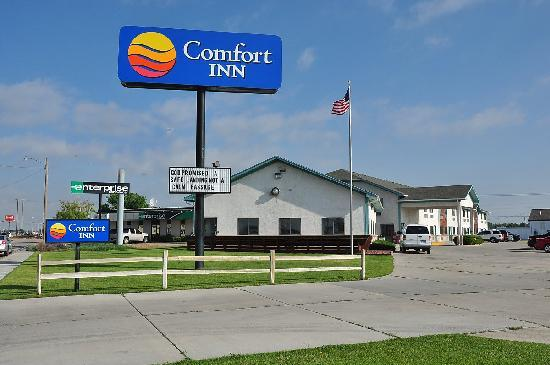 Comfort Inn Scottsbluff: The Scottsbluff Comfort Inn is one of the first hotels on the east side of town.