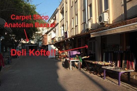 Deli Kofte : Location