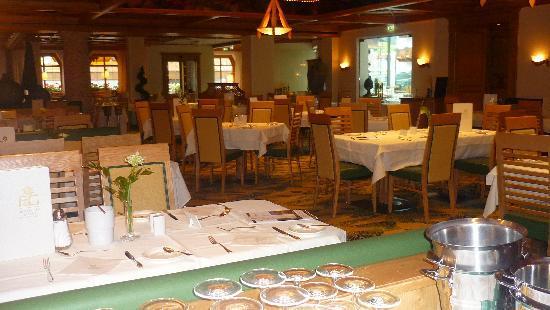 Hotel Edelweiss & Gurgl: Salle de restaurant