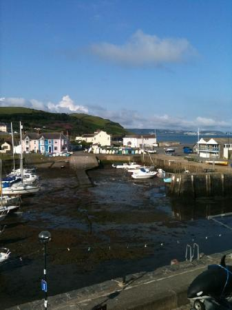 Aberaeron, UK: view from window