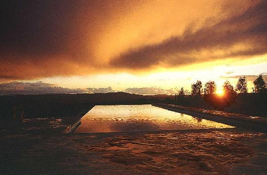 Agriturismo Le Macie: tramonto