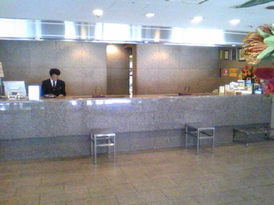 Premier Hotel–CABIN–Shinjuku: フロント