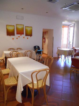 Albergo Italia: sala colazione