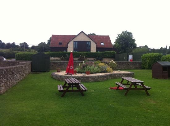 Our Accommodation From Pubs Back Garden Picture Of The