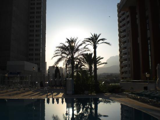Hotel Levante Club & Spa : lovly sunset