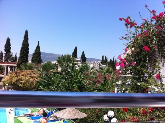 Filis Otel: balcony view