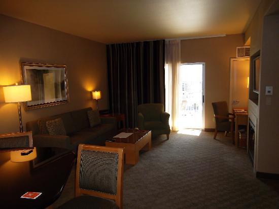 Platinum Hotel and Spa: Sitting Area
