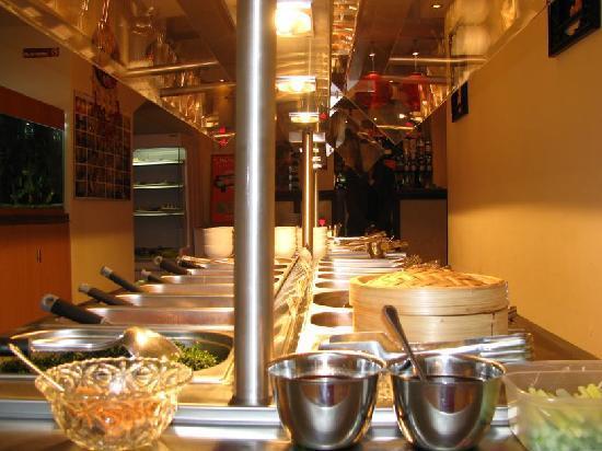 Honeymoon Restaurant: Buffet