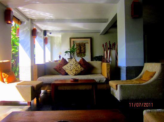 Ramayana Resort & Spa: the lobby