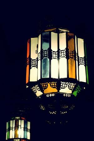 Riad Dar Tiflet: Lampe Dar tiflet - Guest Tinne - Annelise
