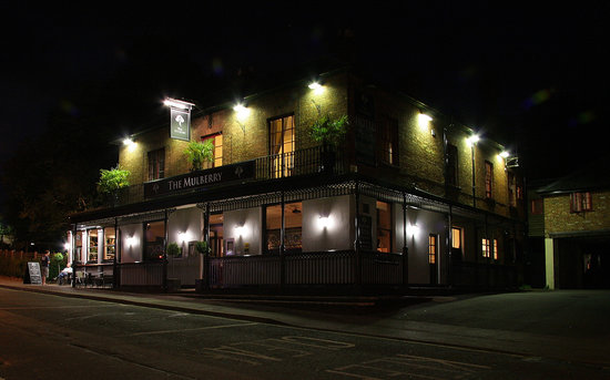 The Mulberry: Mulberry by night