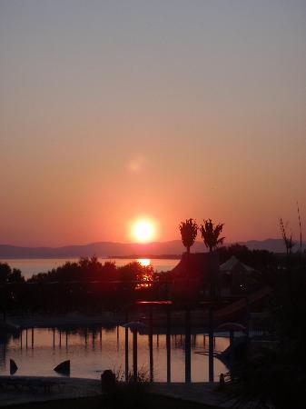 Marine Aquapark Resort: Blick aus dem zimmer 420 Sonnenaufgang