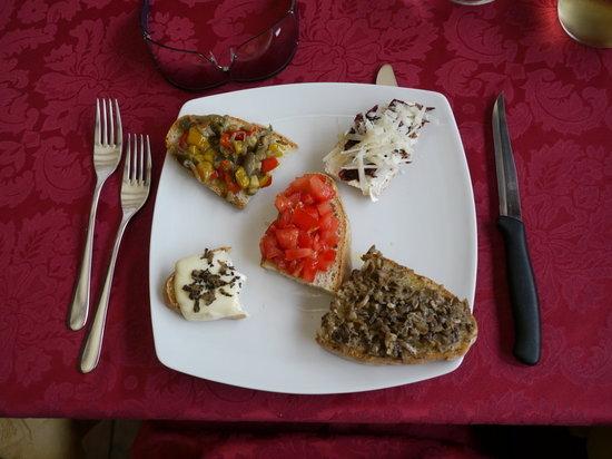 Taverna del Verziere: Antipasti
