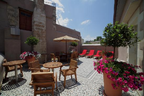 Fatma Hanoum Boutique Hotel: Roof Terrace
