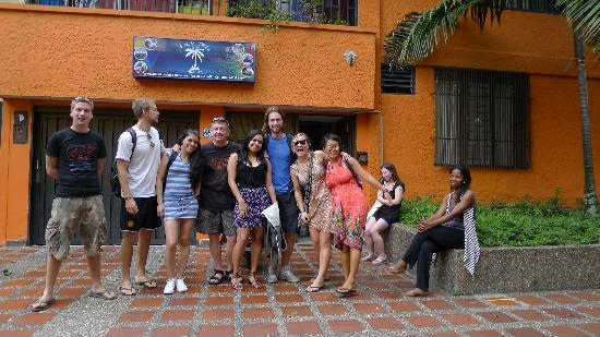 Palm Tree Hostal Medellin: For anyone looking to get away from the gringo tourist track, This hostel is in the perfect loca