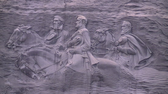 Stone Mountain, Georgien: Mountain Carving