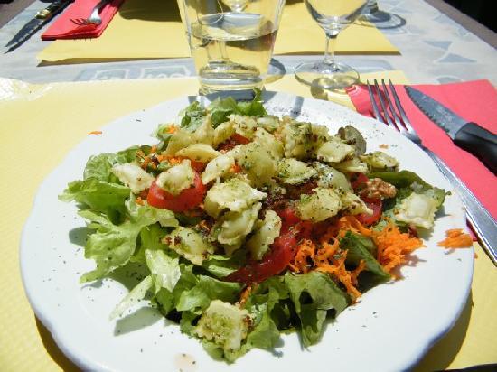 Gite - Auberge Le Chamois: primo piatto