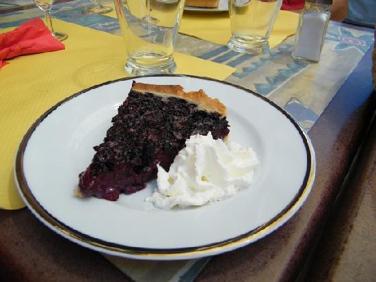 Gite - Auberge Le Chamois: torta ai mirtilli