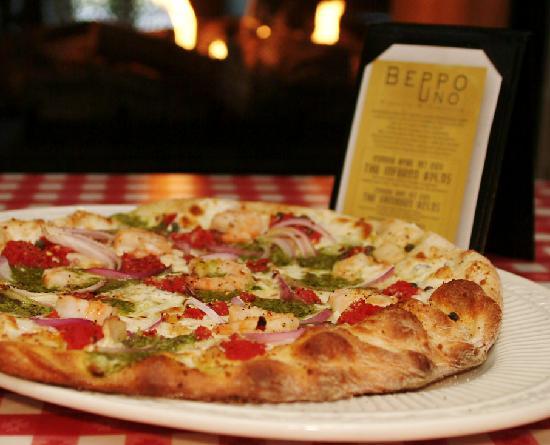 Beppo Uno Pizzeria and Trattoria: Gambero pizza