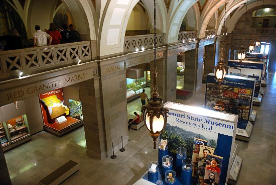 Jefferson City, MO: The Missouri State Museum, located on the first floor of the Missouri State Capitol, showcases M