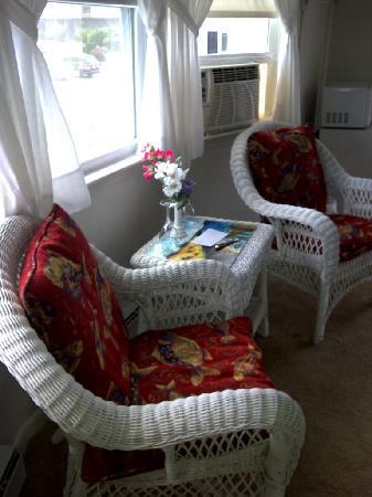 Cape Cod Ocean Manor: Room 1 - Window