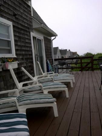 Cape Cod Ocean Manor: Deck