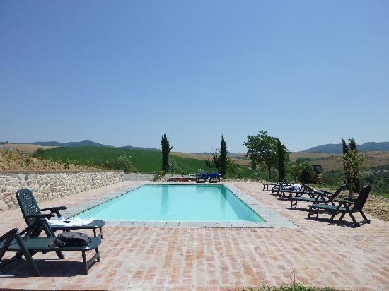 Podere Campaini: The pool