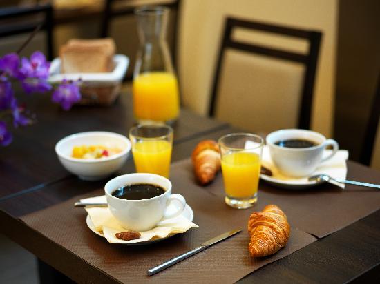 Hotel des Ducs : petit déjeuner