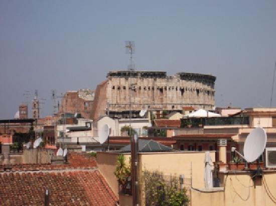 คาโป ดาฟริกา: View from the roof terrace