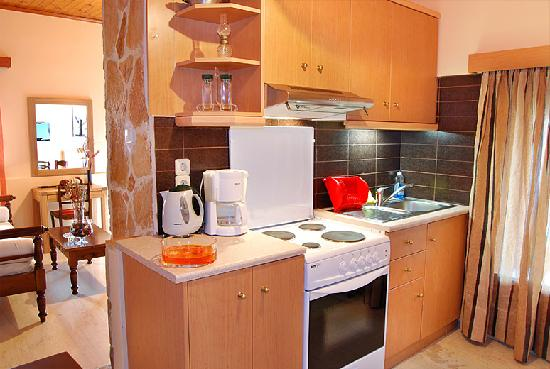 AnnaView Apartments: Fully equipped kitchen rooms