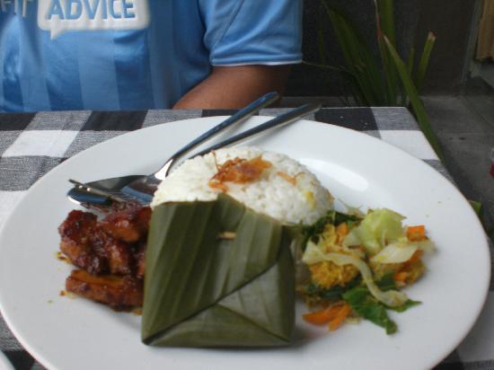 Bali Elephants Villa : the morning free breakfast.... was fantastic