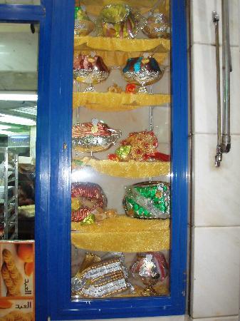 El Abd Bakery : outside their window..