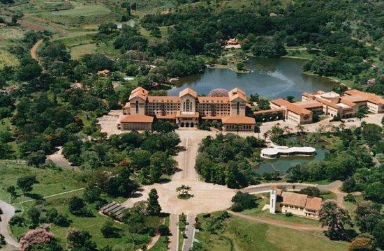 Araxá, MG: Vista aérea do hotel