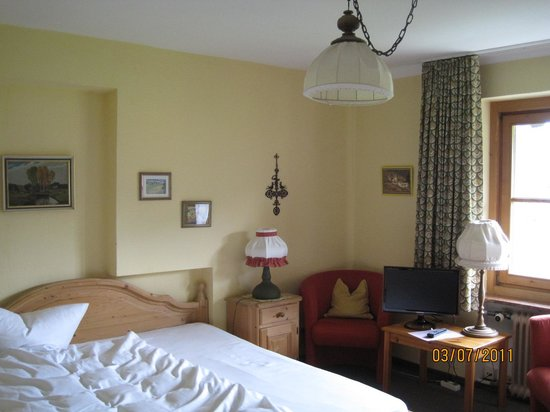 Traunbachhaeusl: One of the double bedrooms