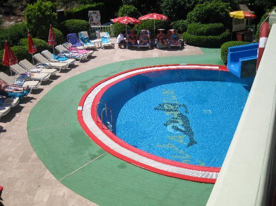slide pool area