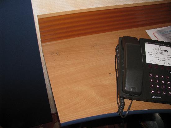Cosmopolitan Hotel: Schreibtisch