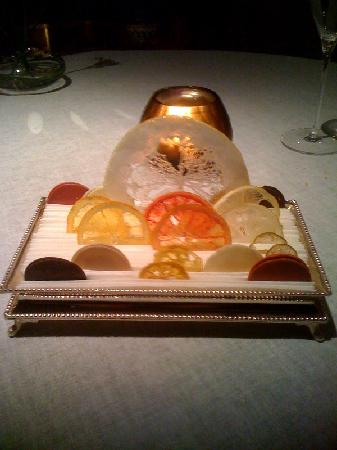 Steirereck: Citrus Petit Fours