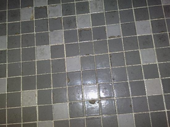 Academia: Badezimmerfußboden.