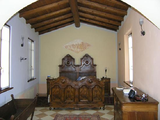 Corte Uccellanda: Schlafzimmer