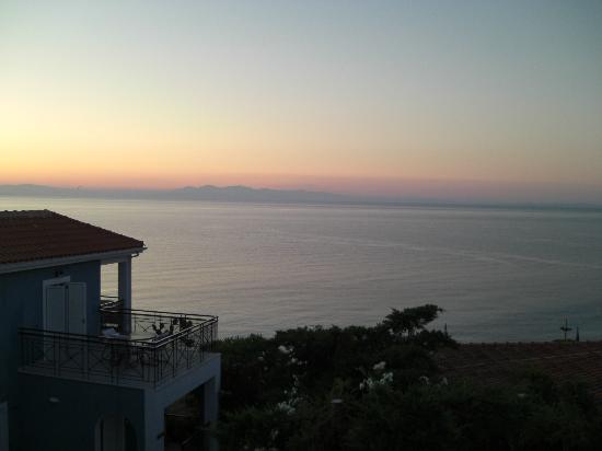 Porto Skala Hotel & Village: View from balcony