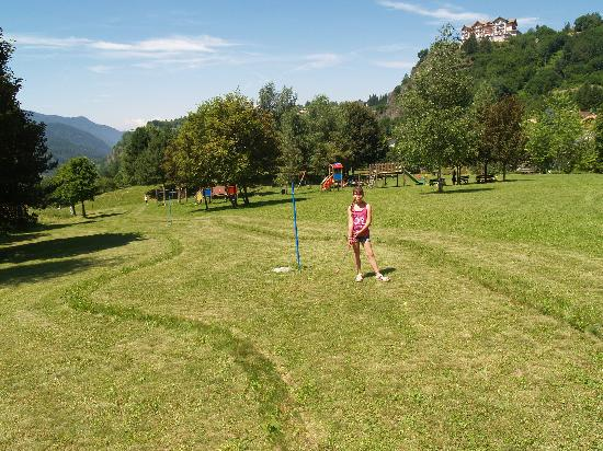 Residence Aparthotel Des Alpes: la partita a minigolf presso il Des Alpes