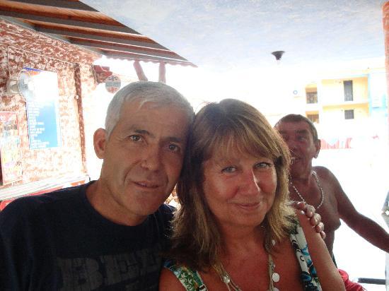 Hotel Karbelsun: Murat and I