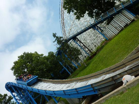 Six Flags St Louis: And yet another water ride.  Older ride, but still fun.
