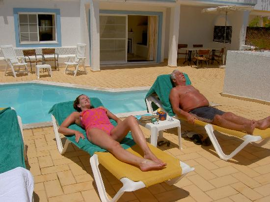 Four Seasons Fairways : at our pool