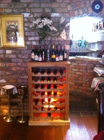 AZ Restaurant: wine rack