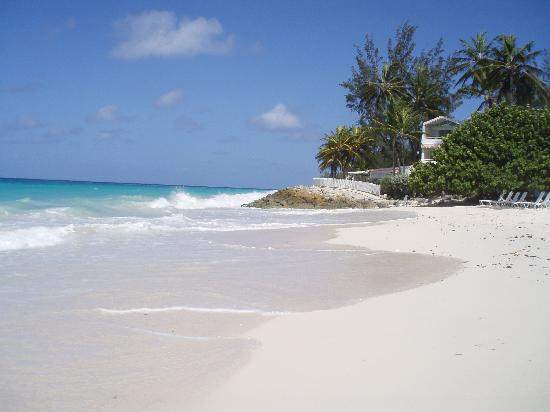 Barbados Beach Club: Hotel beach