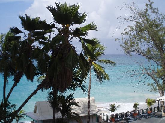 Barbados Beach Club: view from balcony