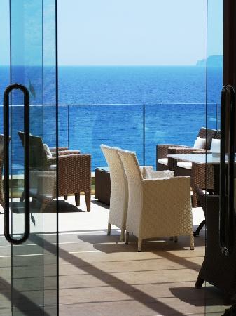 Daios Cove Luxury Resort & Villas : bar