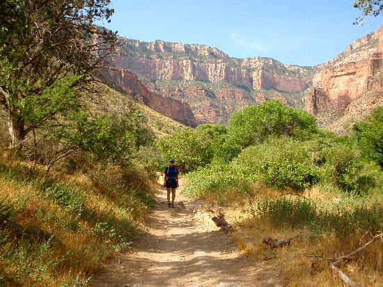 Bright Angel Trail: The trail is breathtaking!