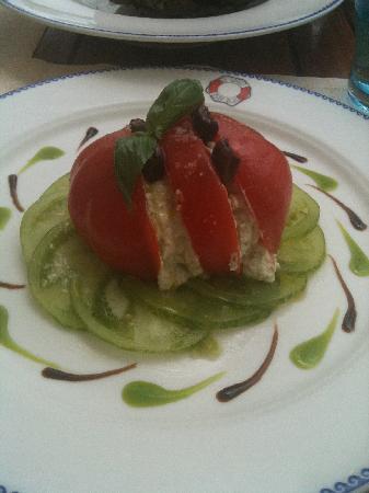 Hotel du Cap-Eden-Roc : zebra salad